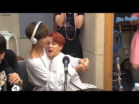 How V and Jimin BTS love and care for each other