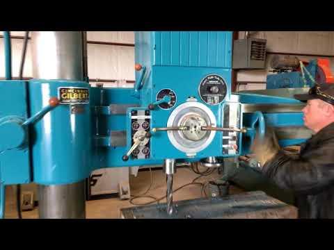 For Sale Cincinnati Drill // FMI Trading LLC // Industrial equipment