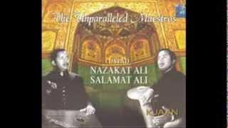 Ustad Salamat Ali Khan & Ustad Nazakat Ali Khan- Raga Kaushikdhwani