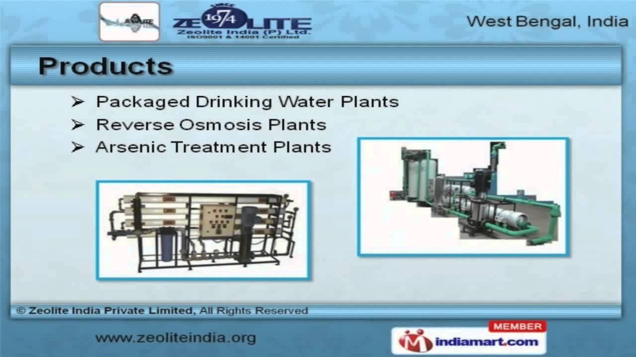 Water Treatment Products by Zeolite India Private Limited, Kolkata