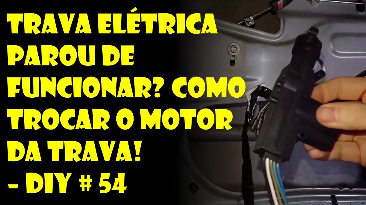 Trava Elétrica Parou de Funcionar? Como Trocar e Instalar o Motor da Trava!  - DIY#54   Dr. Corsa