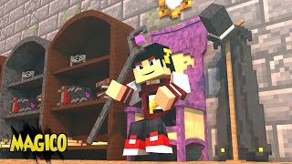 Minecraft: ESCADONA - CAJADO DE BRUXO ‹ AM3NIC ›