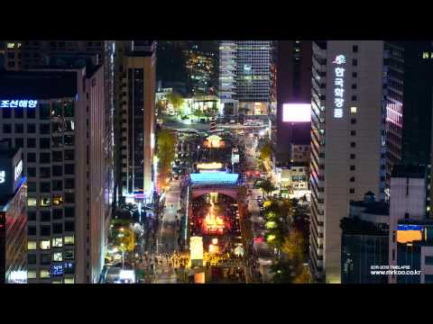 KOREA TIMELAPSE - Night of Seoul [서울 타임랩스 4K / UHD]