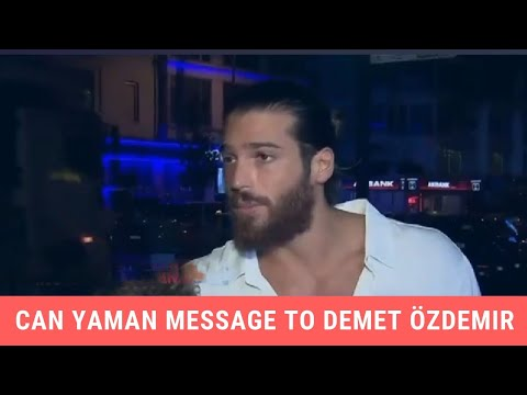 """Can Yaman's Special Message For Demet Ozdemir, """"We Are The Most Perfect Couple & Made For Each Other"""