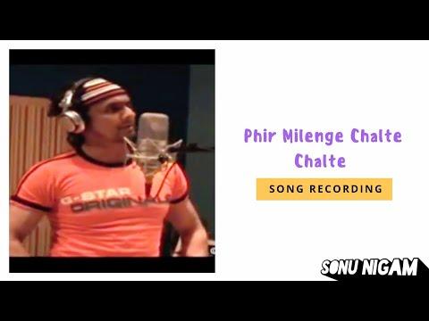 Phir Milenge Chalte Chalte Song Making | Sonu Nigam | Shahrukh Khan | Salim-Sulaiman | Kajol