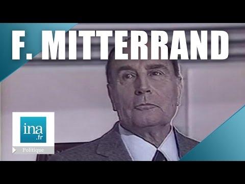 François Mitterrand face à Yves Mourousi : un président câblé | Archive INA
