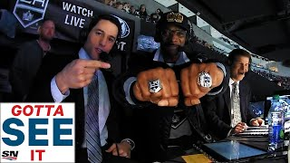 GOTTA SEE IT: Snoop Dogg Joins Kings Broadcast Booth For Amazing Hockey Play-By-Play