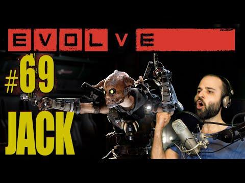 EVOLVE #68 | NUEVO TRAMPERO JACK Gameplay Español