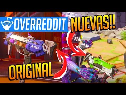 NUEVAS SKINS Solo para ARMAS - Rumores Oficiales de Overwatch