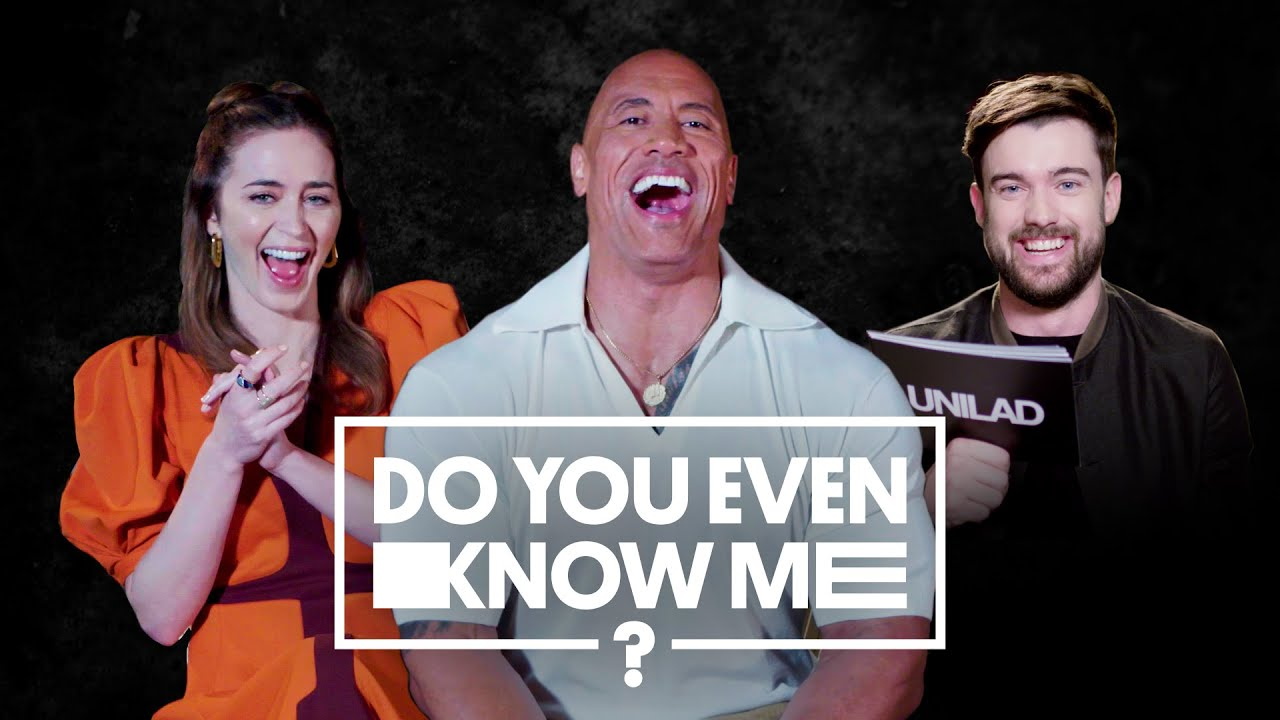 The Rock Can't Believe Emily Blunt's Phobia | Do You Even Know Me | UNILAD