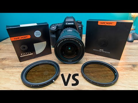K&F Concept Variable ND2-32 Vs. Variable ND W/ CPL   Unboxing & Review
