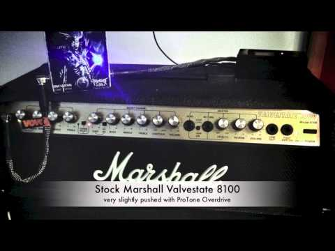 The unloved step child of the past two decades Marshall 8100 Valvestate