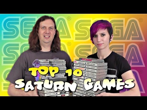 TOP 10 SATURN Games - All Time