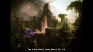 Thomas Cole, Expulsion from the Garden of Eden, 1828