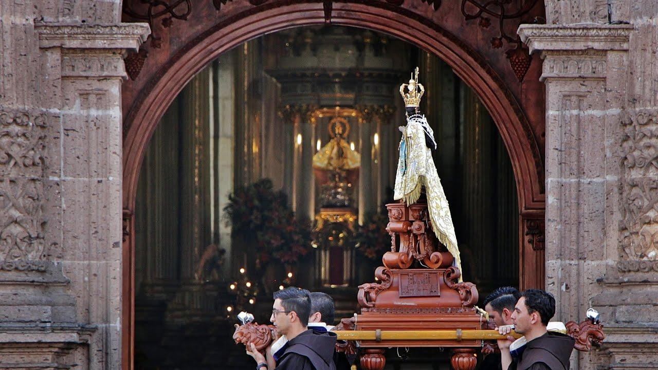 18 de mayo 2020. Celebración mensual en honor de Nuestra Señora de Zapopan