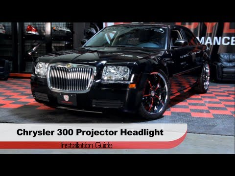 Spyder Auto Installation 2005 08 Chrysler 300 Halo Projector Headlights