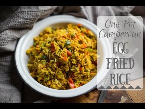 Egg Fried Rice ~ One Pot Campervan Recipes