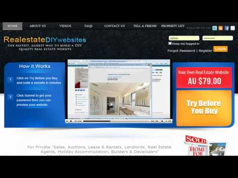 Real estate websites How to Create a FREE (DIY) a Professional Website .