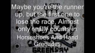 14.- Green Day- Horseshoes And Hand Grenades [HQ]