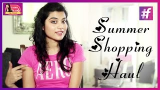 Summer Shopping Haul    Summer Outfits 2015   By Mehak
