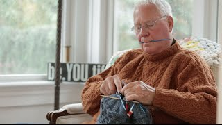 'The Man Who Knits'