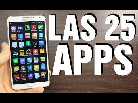 Las 25 Apps imprescindibles para Android