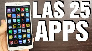 Las 25 Apps imprescindibles para Android
