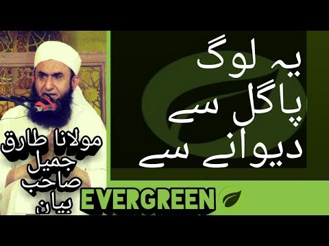 YE LOG PAGAL SY DEWANAY SY  MOLANA TARIQ JAMEEL BAYAN YOUTUBE