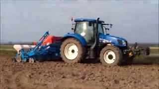Siew kukurydzy 2017 z new holland.
