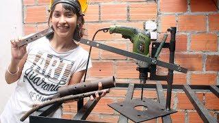 DIY BASE PARA TALADRO CON MATERIALES RECICLADOS / KellyBlogs