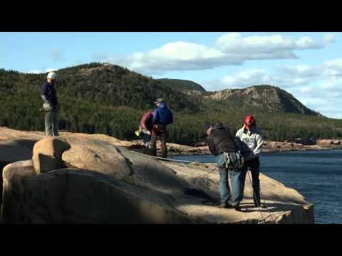 Maine Bound Rock Climbing Trip to Otter Cliffs in Acadia National Park