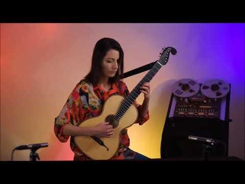 Augustin Barrios Mangore, Aire De Zamba, Anna Kowalska - 19th Century Guitar   Www.luteduo.com