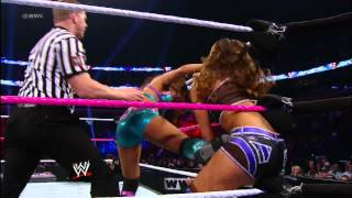 Layla vs. Eve: WWE Superstars, September 27, 2012