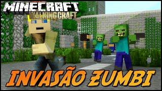 THE WALKING CRAFT! INVASÃO ZUMBI! Ep.1