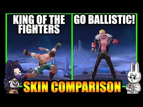 CHOU GO BALLISTIC! STARLIGHT SKIN EFFECTS VS. KING OF THE FIGHTERS - MLBB SKIN COMPARISON SERIES