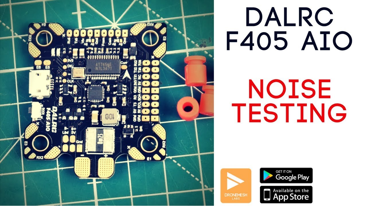 DALRC F405 AIO Betaflight F4 on