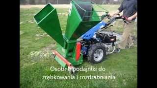 Rozdrabniacz biomasy do ciągnika jednoosiowego BCS