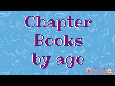 Usborne Chapter Books - In Order By Age Level