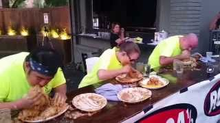 Molly Schuyler destroys 11.2 lbs of burrito in 5 m
