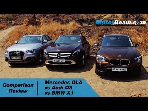 Mercedes GLA vs Audi Q3 vs BMW X1