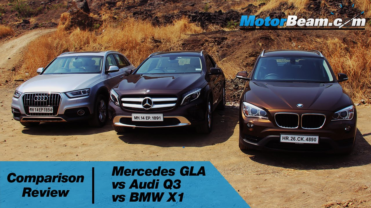 Mercedes GLA vs Audi Q3 vs BMW X1  Comparison Review  MotorBeam