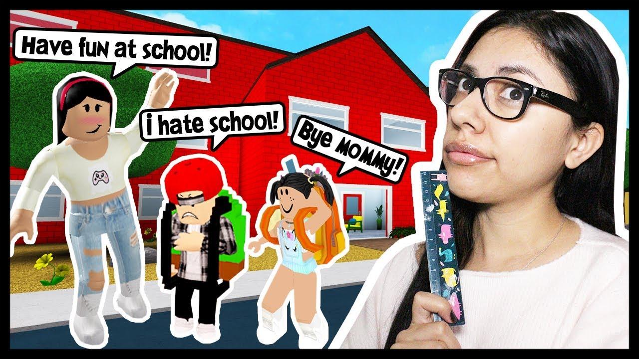 my-kids-first-day-of-school-roblox-rolepay-bloxburg