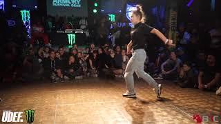 Ayane Vs Kate   B-Girl Semis   Undisputed World B-Boy Masters   Pro Breaking Tour   BNC