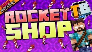 ROCKET SHOP | Truly Bedrock [1-18] | Minecraft Bedrock Edition SMP (MCBE)