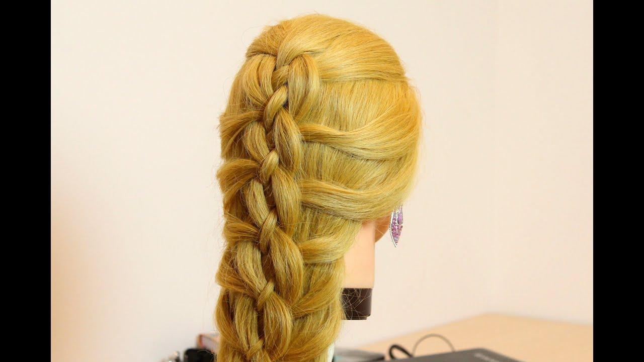 easy hairstyles. cute braid