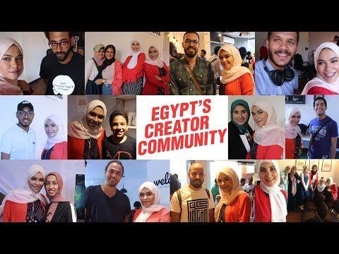 تجمع اليوتيوبرز المصريين | Egypt's Creator Community