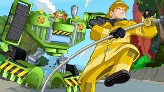 Мультик Трансформеры Боты Спасатели - Коди в дозоре