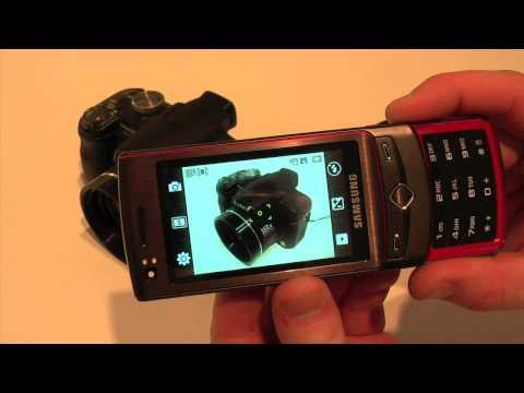 Samsung S8300 Ultra Touch - prise en main par www.belgiquemobile.be