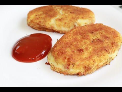 Картофельные зразы с начинкой. Просто и вкусно.