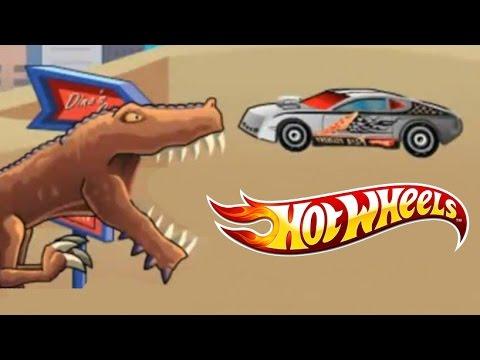 juego de autos 37 hot wheels hero vs pizza t rex rampage. Black Bedroom Furniture Sets. Home Design Ideas